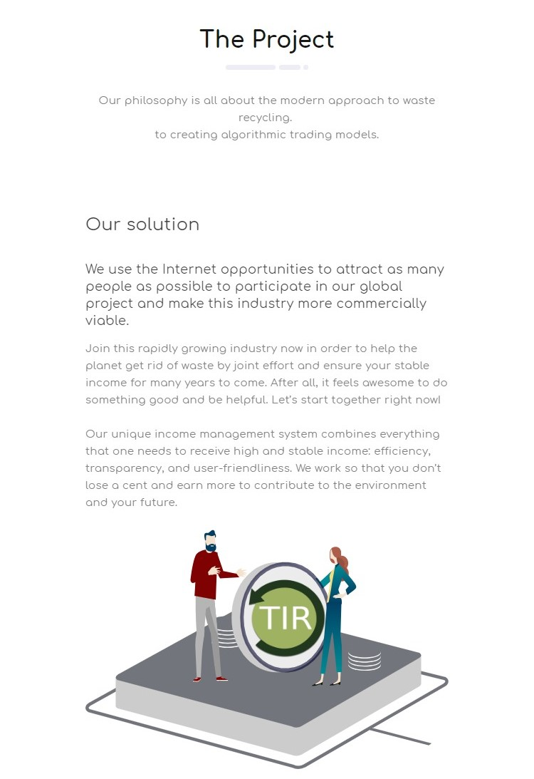 Truxir - ICO information, rating, valuation and details