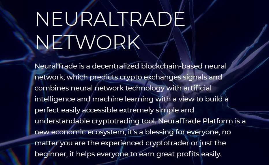 NeuralTrade - ICO information, rating, valuation and details